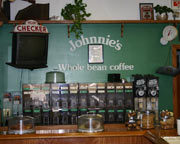 Johnnie's Coffee, Marina del Rey, CA features specialty coffees and fresh, delicious sandwiches and salads